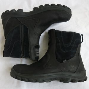Other - TIMBERLAND Side Zip Primaloft Black Boots Size 12